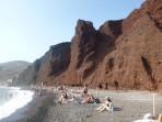 Pláž Red Beach - ostrov Santorini foto 5