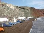 Pláž Red Beach - ostrov Santorini foto 9