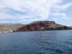 Pláž Red Beach - ostrov Santorini foto 13