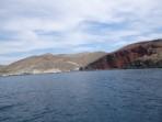 Pláž Red Beach - ostrov Santorini foto 14