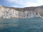 Pláž White Beach - ostrov Santorini foto 1