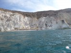 Pláž White Beach - ostrov Santorini foto 2