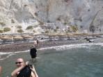 Pláž White Beach - ostrov Santorini foto 3