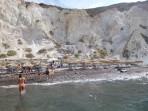 Pláž White Beach - ostrov Santorini foto 4