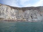 Pláž White Beach - ostrov Santorini foto 5
