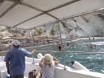 Pláž White Beach - ostrov Santorini foto 6
