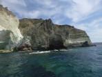 Pláž White Beach - ostrov Santorini foto 13