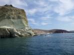 Pláž White Beach - ostrov Santorini foto 14