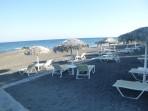 Pláž Agia Paraskevi - ostrov Santorini foto 7