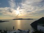 Firostefani - ostrov Santorini foto 13