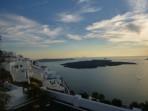 Firostefani - ostrov Santorini foto 14