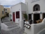 Pyrgos - ostrov Santorini foto 14