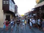 Centrum - Nové město Rhodos