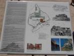 Akropole Lindos - mapa