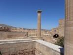 Akropole Lindos - ostrov Rhodos foto 21