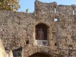 Palác velmistrů - město Rhodos foto 4