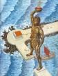 Zobrazení Kolosu rozkročeného v přístavu Mandraki