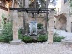 Rhodos - středověké zahrady