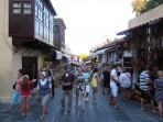 Turecká čtvrť - ulice s obchůdky