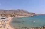 Pláž Agathi (Agia Agatha) - ostrov Rhodos foto 1