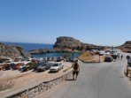 Pláž Agios Pavlos (Lindos - Saint Paul Bay) - ostrov Rhodos foto 1