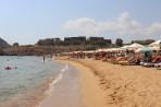 Pláž Agathi (Agia Agatha) - ostrov Rhodos foto 15