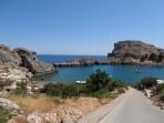 Pláž Agios Pavlos (Lindos - Saint Paul Bay) - ostrov Rhodos foto 2