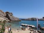 Pláž Agios Pavlos (Lindos - Saint Paul Bay) - ostrov Rhodos foto 4
