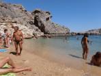 Pláž Agios Pavlos (Lindos - Saint Paul Bay) - ostrov Rhodos foto 6