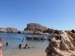Pláž Agios Pavlos (Lindos - Saint Paul Bay) - ostrov Rhodos foto 7