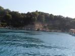 Pláž Anthony Quinn (Vagies) - ostrov Rhodos foto 1
