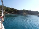 Pláž Anthony Quinn - ostrov Rhodos foto 2