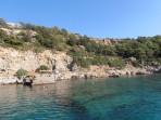 Pláž Anthony Quinn (Vagies) - ostrov Rhodos foto 3