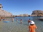 Pláž Agios Pavlos (Lindos - Saint Paul Bay) - ostrov Rhodos foto 8