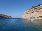 Pláž Anthony Quinn (Vagies) - ostrov Rhodos foto 5