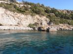 Pláž Anthony Quinn (Vagies) - ostrov Rhodos foto 8