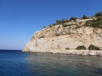 Pláž Anthony Quinn - ostrov Rhodos foto 9