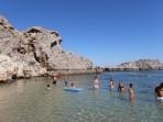 Pláž Agios Pavlos (Lindos - Saint Paul Bay) - ostrov Rhodos foto 9