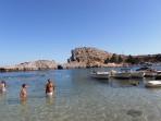 Pláž Agios Pavlos (Lindos - Saint Paul Bay) - ostrov Rhodos foto 10