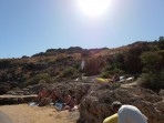 Pláž Agios Pavlos (Lindos - Saint Paul Bay) - ostrov Rhodos foto 11