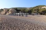 Pláž Fourni - ostrov Rhodos foto 26