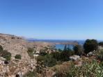 Pláž Megali Paralia (Lindos) - ostrov Rhodos foto 1