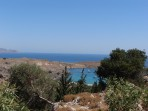 Pláž Megali Paralia (Lindos) - ostrov Rhodos foto 2