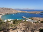 Pláž Megali Paralia (Lindos) - ostrov Rhodos foto 16