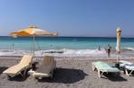 Pláž Ixia - ostrov Rhodos foto 18