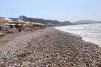 Pláž Ixia - ostrov Rhodos foto 22