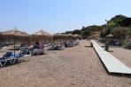 Pláž Kavourakia - ostrov Rhodos foto 11