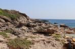 Pláž Kokkina - ostrov Rhodos foto 9
