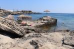 Pláž Kokkina - ostrov Rhodos foto 13