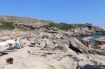 Pláž Kokkina - ostrov Rhodos foto 24
